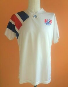 USA NATIONAL TEAM 1992/93/94 AWAY FOOTBALL SOCCER SHIRT JERSEY ADIDAS EQUIPMENT