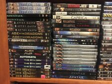 155 Sci-Fi dvd Lot Pick and Choose Science Fiction- Fantasy- Buy more save more