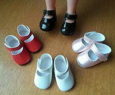 1 paire o choix Chaussures vernies 5,5 x 2,8 cm poupée Cathie Bella