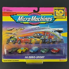 NEW Vintage 1996 Micro Machines #6 Euro-Sport Celebrating 10 Years 75030