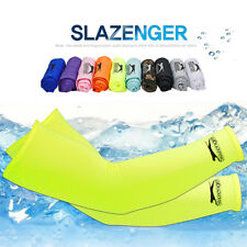 Slazenger UV protected Compression Outdoor Sports Cycling Thermal Arm Warmers