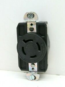 Arrow Hart-Lock 6440 Twist Locking Receptacle 20A 120/208V 3ØY 4-Pole 4W L18-20R