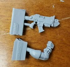 Warhammer 40K Forge World Space Marine Bits: Character Combi-Flamer W/Bionic Arm