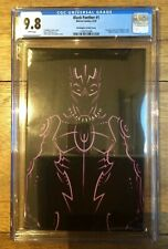 Black Panther #1 Christopher Variant Cover CGC 9.8 1260751006