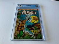 WEREWOLF BY NIGHT 5 CGC 9.6 WHITE PAGES MIKE PLOOG MARVEL COMICS 1973