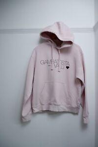 giambattista valli x hm Pink Hoodie Size S Small Gc Sweater Women's