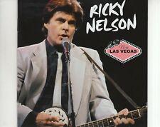 CD RICKY NELSONviva Las VegasNEAR MINTROCK N ROLL(B3111)