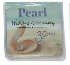 Pearl 30th Wedding Anniversary Gift Lucky Sixpence