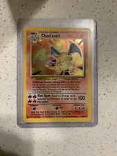 Charizard Pokémon 4/102  Holographic Base Set Unlimited Edition