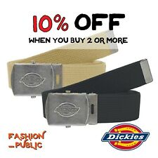 DICKIES BELT 11DI0302 MEN'S ADJUSTABLE BELT UTILITY CANVAS WORK UNIFORM MILITARY