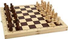 Schach Backgammon Dame Kassette 3 in1 Spiel Schachspiel Backgammonspiel Dame