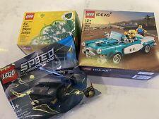 Lego Ideas 40448 Vintage Car, Lego 30342 Speed Champions, Lego 40320 Tree/Plants