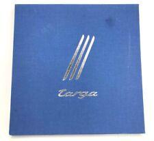 2013 Porsche 911 Targa DELUXE Sales Book w/Case
