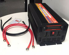 3000W 6000W Car Power Inverter DC 12V To AC 110V 2 AC Outlets RV Solar Converter