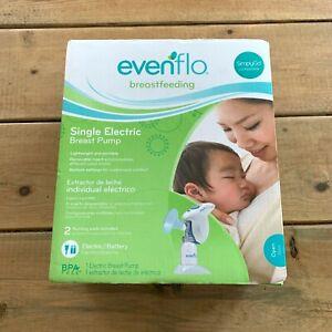 Evenflo Breast Pump Single Portable Lightweight SimplyGo Tested Open Box