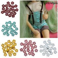 Nähmaterial Metallschnalle Zubehör für Puppen Mini Buttons Schnallen für Puppen