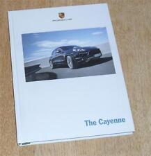 Porsche CAYENNE FOLLETO de tapa dura 2011 - 3.6 3.0 Diesel híbrido 4.8 Turbo 3.0 S