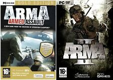 ARMA  Armed Assault - Gold Edition includes queens gambit & Arma 2