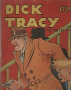 FEATURE BOOKS # 6 (DICK TRACY) CGC 5.0 1937