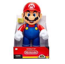 Super Mario Figure Big World of Nintendo 20 Inches Tall Plastic 11 Articulations