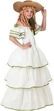 Déguisement Fille Scarlett O Hara Blanche 3/4 Ans Costume Enfant Médiévale