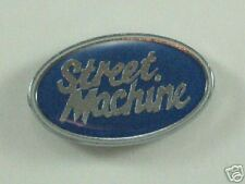 11136 Blue Oval Street Machine Car Auto Metal Pin Badge