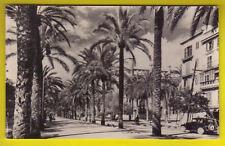PALMA de MALLORCA Paseo de Sagrera con coche circ. 1959