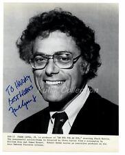 Frank Capra Jr. - Director Signed Autograph 8x10 Photo