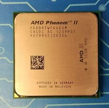 AMD phenom II x4 B97 HDXB97WFK4DGM 3.2GHz Socket AM3 CPU Processor {#JK}