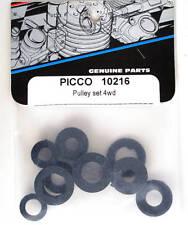Picco Shepherd Pulley Set 4WD 10216 modellismo