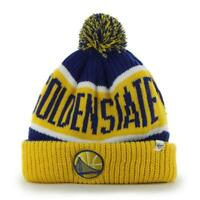 Golden State Warriors 47 Brand Calgary Cuff Knit Hat
