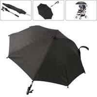 Adjustable Pram Buggy Baby Carrier Parasol UV Rays Shade Sun Protection Umbrella