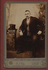 Gillingham. G J Cox. Cowper Road. Gentleman Antique  Cabinet Photograph   q460