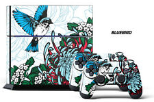 Designer Skin for PS4 Playstation 4 Console System & 2 Controller Decals BL