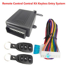 Remote Control Central Kit Door Lock Anti-theft Keyless Entry System For All Car