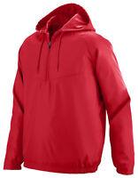 Augusta Sportswear Men's Water Resistant Half Zip Avail Pullover Hoodie. 3510