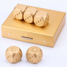 5 X Würfel Spielwürfel 6.Seitig Dice abgerundete Ecken Spielzeug miT Box.