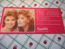 Judds Reno Harrah's Photo Postcard 1988