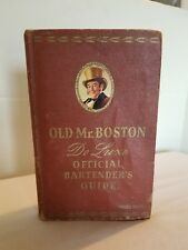 Old  00004000 Mr. Boston DeLuxe Official Bartender's Guide 10th printing 1953