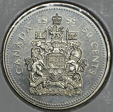 CANADA 50 CENTS 1999 in MS
