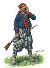1st Louisiana Special Battalion Wheat's Tiger Rifles Zouave Signed Art Print