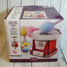 Nostalgia Hard Candy Cotton Candy Maker Retro Series Red Party Supplies