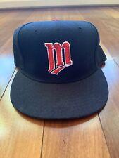 Vintage New Era Hat Diamond 5950 Pro Model Minnesota Twins Wool 7 3/8 USA CAP