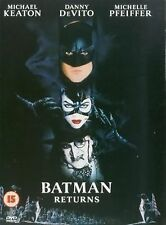 Batman Returns  Michael Keaton, Danny DeVito, Michelle Pfeiffer NEW UK R2 DVD