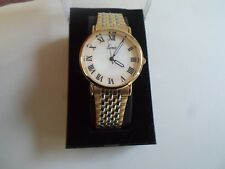 Gents Limit Watch Mother of Pearl Type Face Unused - Gift Idea