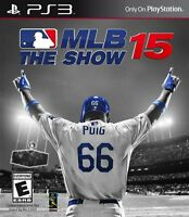 NEW MLB 15: The Show (Sony Playstation 3, 2015)
