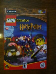 Harry Potter Creator pc game pc software cdrom lego. In Box Complete.