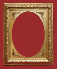 Rahmen - Spiegelrahmen - 19. Jh. - Holz, Ornamente Masse, vergoldet   (# 2640)