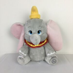 WT Disney Store Stamped Dumbo Plush Soft Toy Height 14 inches