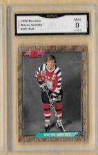 1992 Bowman GOLD Wayne Gretzky #207 GRADED GMA 9 MINT